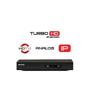 TURBO HD DVR Hikvision DS-7208 Serija (8 kanala, 1080p@25fps, H.265, HDMI, VGA)