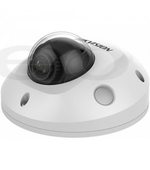 Dome IP Kamera Hikvision DS-2CD2543G0-IS (4MP, 2,8mm, 0.01 lx, IK10, IR do 30m, AUDIO, ALARM, misSD)