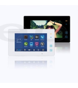 2-Wire Indoor Monitor 7 inch color TFT display