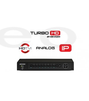TURBO HD video snimač Hikvision DS-7208HQHI (8 kanala ili 12IP, ANALOGNI/HD-TVI/CVI/AHD, H.265 Pro+, HDMI, VGA)