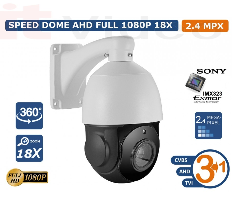 SONY CMOS IP 3u1 kamera C200NS (2.1MP CMOS Sensor, 18X Optical Zoom (f=3.9mm-85.5mm)), - brend: ITV, - cijena: 2.997,50 kn