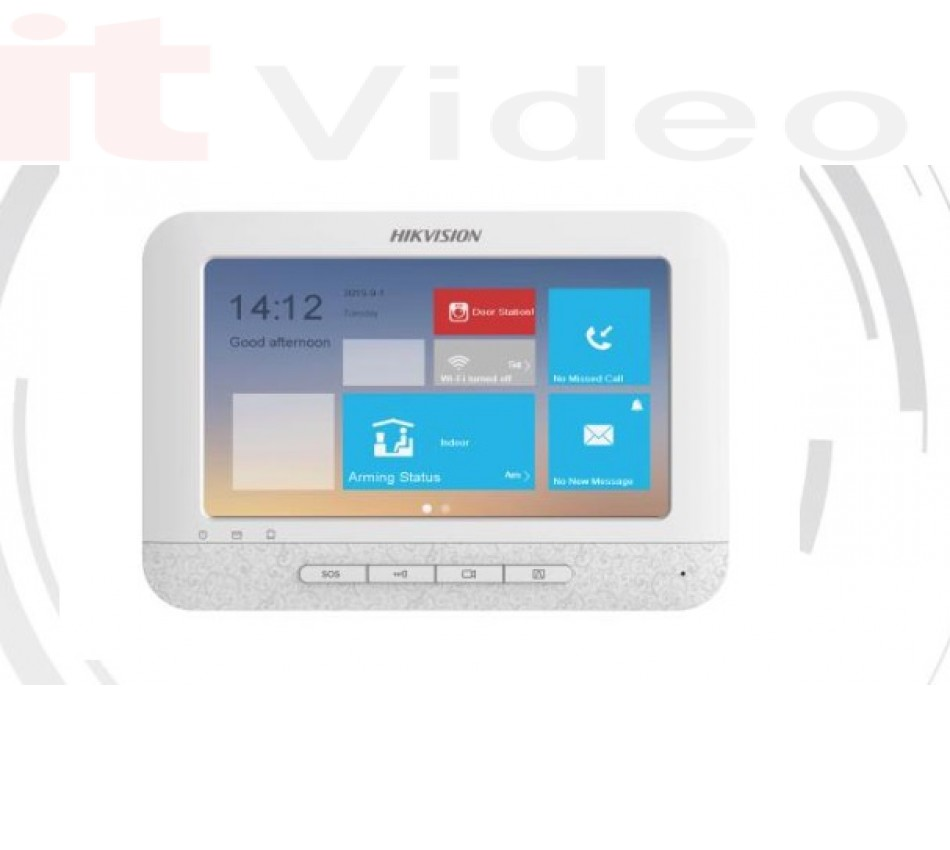 Video Intercom Indoor Station with 7-inch Touch Screen + wifi, - brend: HikVision, - cijena: 1.748,75 kn