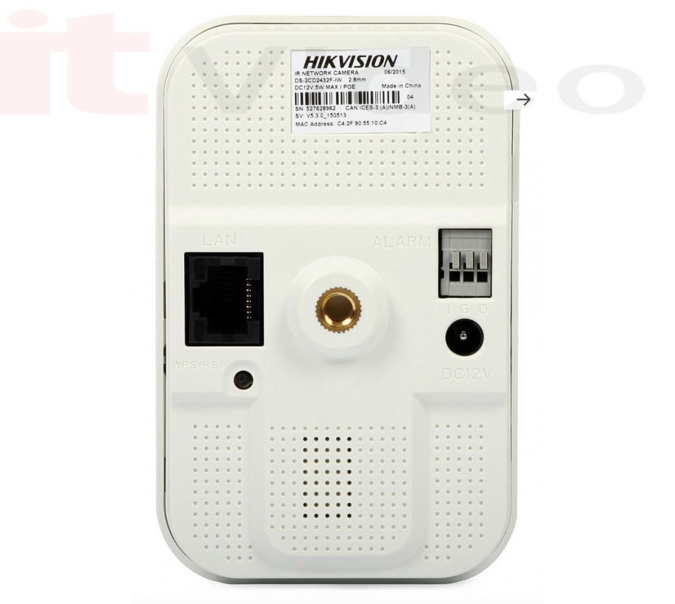 IP Kamera Box Hikvision DS-2CD2432F-IW (3MP, 4mm, 0.7 lx, IR do 10m), - brend: HikVision, - cijena: 2.048,75 kn