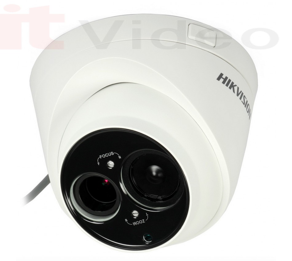 TURBO HD Kamera Hikvision DS-2CE56D5T-VFIT3 2.8-12mm WDR 120dB (Dome, 1080p, 0.001 lx, IR do 50m), - brend: HikVision, - cijena: 1.623,75 kn