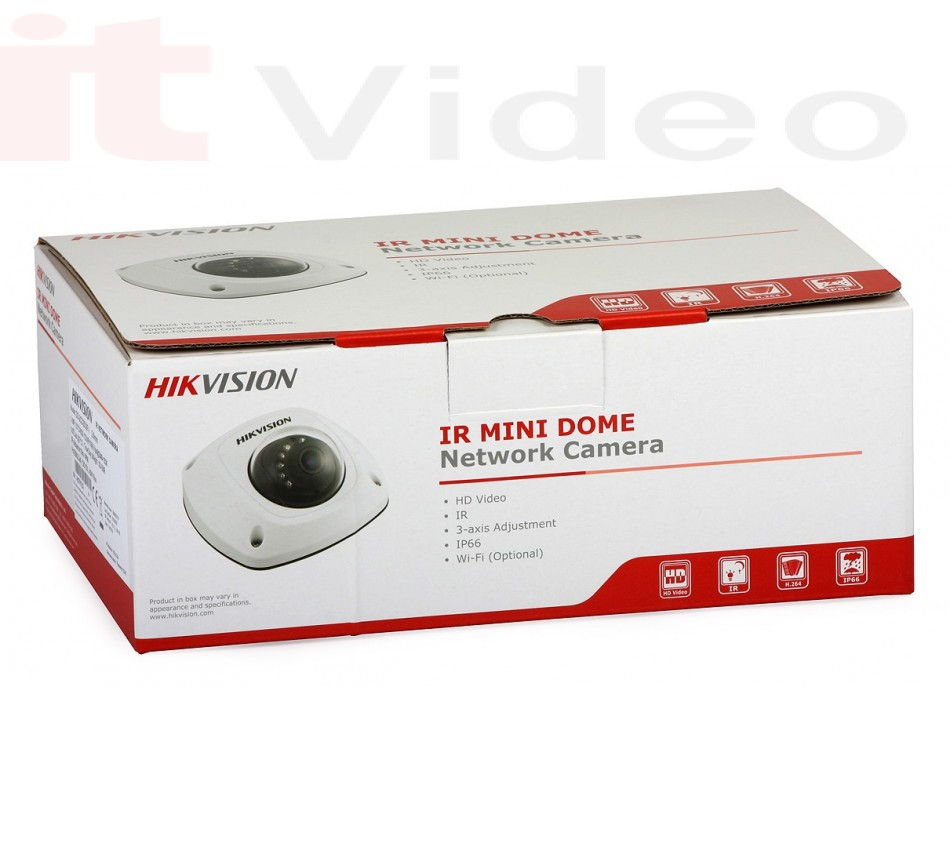 Kamera Hikvision DS-2CD2542FWD (4MP, 2.8mm, 0.01 lx, IK08, IR do 10m) + Mikrofon + WIFI + Alarm, - brend: HikVision, - cijena: 2.373,75 kn