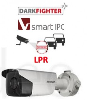 IP SMART Camera: LPR KAMERA Prepoznavanje registarskih oznaka 2MP WDR (8-32mm motorizirana) 120 dB
